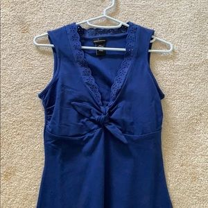 Blue, sleeveless dress from Venus